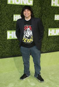 Charlie Saxton at the premiere of