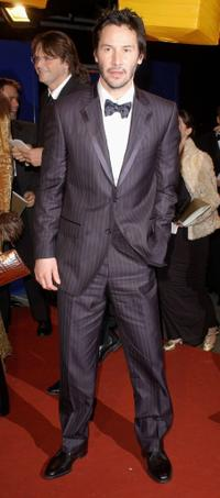 Keanu Reeves at the official aftershow party following the Orange British Academy Film Awards 2005.