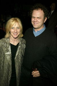 John C. Reilly and Edie Falco at the after party for opening night of
