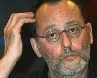 Jean Reno at the press conference of the third French Film Festival.