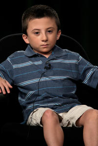 Atticus Shaffer at the ABC Network portion of the 2009 Summer Television Critics Association Press Tour.