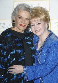 Debbie Reynolds and Jane Russell attend the 51st Annual Thalians Ball.