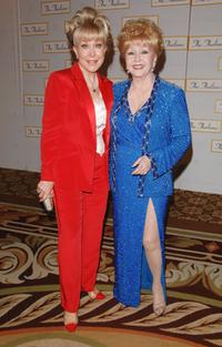 Debbie Reynolds and Barbara Eden at the 51st Annual Thalians Ball.