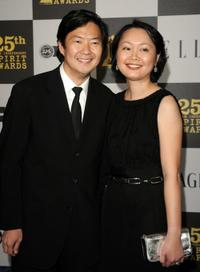 Ken Jeong and Tran Ho at the 25th Film Independent's Spirit Awards.