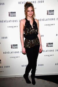 Nora Arnezeder at the Chaumet's Cocktail Party and Dinner for Cesar's Revelations 2009.