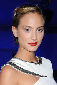 Nora Arnezeder at the amfAR MILANO 2011.