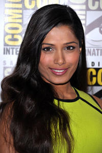 Freida Pinto attends the 2011 San Diego Comic-Con.