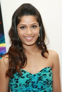 Freida Pinto at the 2008 Tribeca cinema series.