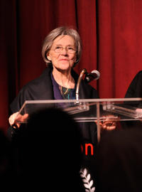 Emmanuelle Riva at the 2012 New York Film Critics Circle Awards in New York.