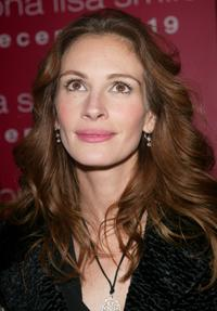 Julia Roberts at the New York premiere of