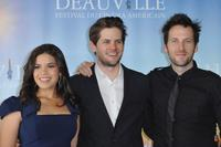America Ferrera, Ryan Piers Williams and Ryan O'Nan at the photocall of