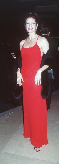 Mimi Rogers at the 1999 AFI Awards.