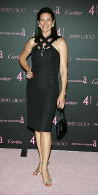 Mimi Rogers at the Iron Spring 2006 show during Mercedes-Benz Fashion Week.
