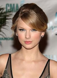 Taylor Swift at the 42nd Annual CMA Awards.