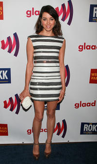 Aubrey Plaza at the 22nd annual GLAAD Media Awards in California.