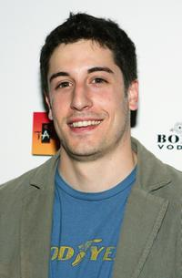 Jason Biggs at the Tao nightclub for a cocktail party.