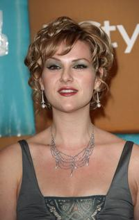 Sara Rue at the In Style Magazine and Warner Bros. Studios Golden Globe After Party.