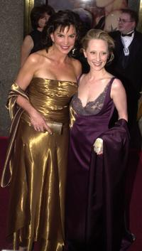Mercedes Ruehl and Anne Heche at the 56th Annual Tony Awards.