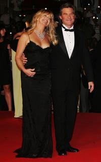 Kurt Russell and Goldie Hawn at the Palais des Festivals at 60th International Cannes Film Festival, for the premiere of