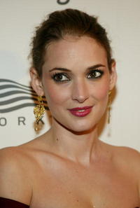 Winona Ryder at American Museum Of The Moving Image Salute To Richard Gere in N.Y.