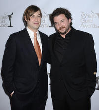 Danny R. McBride and Guest at the 2010 Writers Guild Awards.