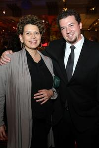 Donna Langley and Danny McBride at the after party of the California premiere of