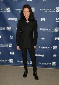 Jacqueline Bisset at the Park City premiere of