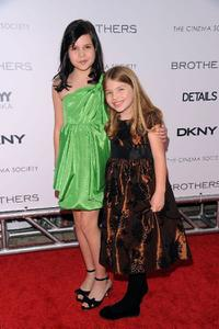 Bailee Madison and Taylor Geare at the screening of