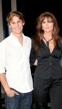 Rhys Wakefield and Alice Parkinson at the photocall of