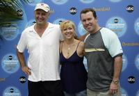 Nick Searcy, Jennifer Aspen and Rodney Carrington at the ABC Primetime Preview Weekend 2004.