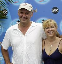Nick Searcy and Jennifer Aspen at the ABC Primetime Preview Weekend 2004.