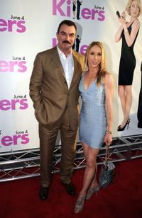 Tom Selleck and Jillie Mack at the California premiere of