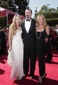 Tom Selleck and Guests at the 59th Annual Primetime Emmy Awards.