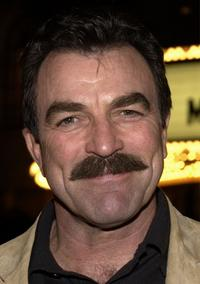 Tom Selleck at the premiere of