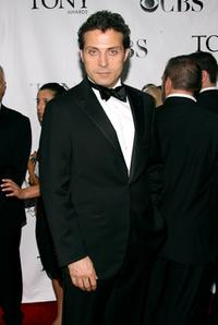 Rufus Sewell at the 62nd Annual Tony Awards.