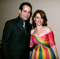 Tony Shalhoub and Evelyn H. Lauder at the Juniors League's