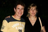 John Shea and his wife Melissa at the 44th Monte-Carlo Television Festival.