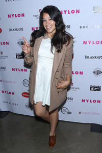 Gina Rodriguez at the NYLON Magazine and Tommy Girl celebration of The Annual May Young Hollywood Issue.