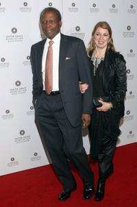 Sidney Poitier and Joanna Shimkus at the Thrill. Then Chill.