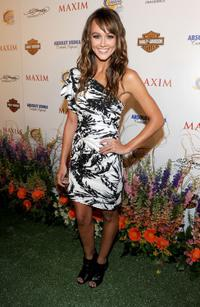 Sharni Vinson at the 11th Annual Maxim Hot 100 party.