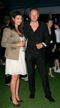 Stellan Skarsgard and Guest at the after party of the UK premiere of