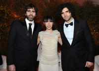 Co-writer Armando Bo, Maricel Alvarez and co-writer Nicolas Giacobone at the party of