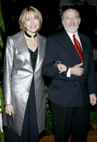Susan Blakely and her husband at the first ever fundraiser for Project Uere and the street kids of Brazil.