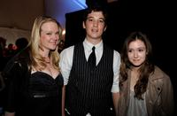 Ashley Palmer, Miles Teller and Hayley McFarland at the Gen Art's 12th Annual Fresh Faces In Fashion.