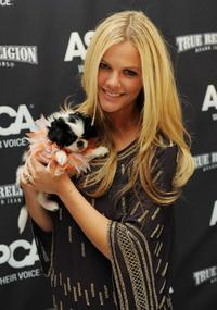 Brooklyn Decker at the 2009 ASPCA Young Friends benefit.