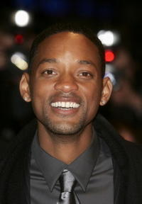 "Will Smith at the ""Hitch"" premiere in Berlin, Germany."