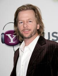 David Spade at the Missy, Ciara and Dave Meyers Post-Grammy Party.
