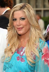 Tori Spelling at the Much Love's BOW WOW WOW Animal Rescue Benefit.