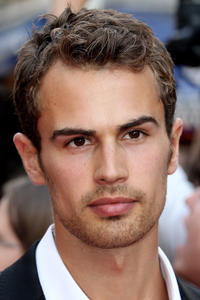 Theo James at the world premiere of