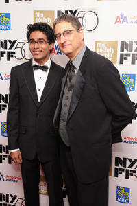Suraj Sharma and Tom Rothman at the Opening Night Gala of
